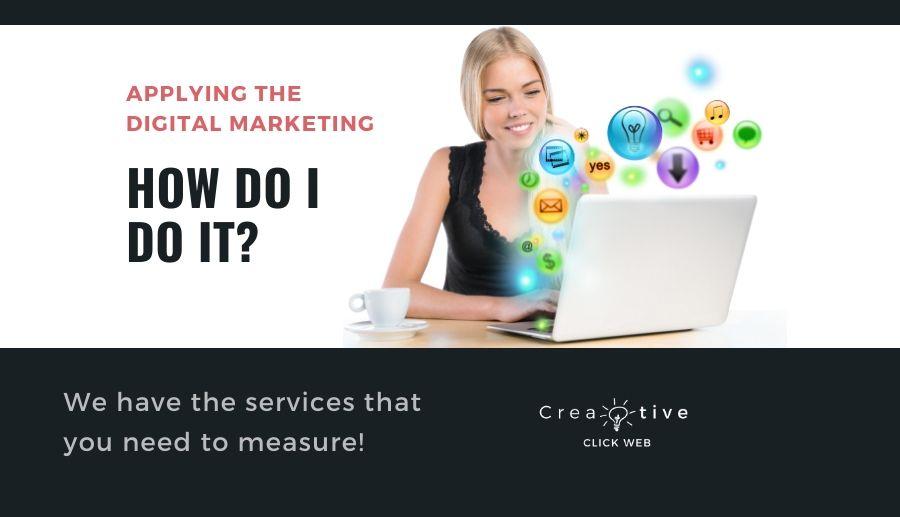 Applying digital marketing to your business. How do I do that?