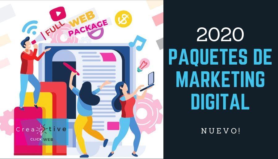 Paquetes de Marketing Digital 2020